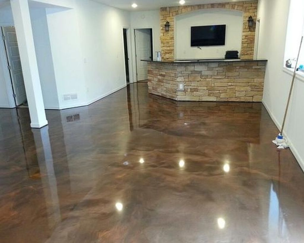Garage Floor Paint In Basement Stylish Brown Epoxy Basement Floor Paint Ideas Flooring Ideas