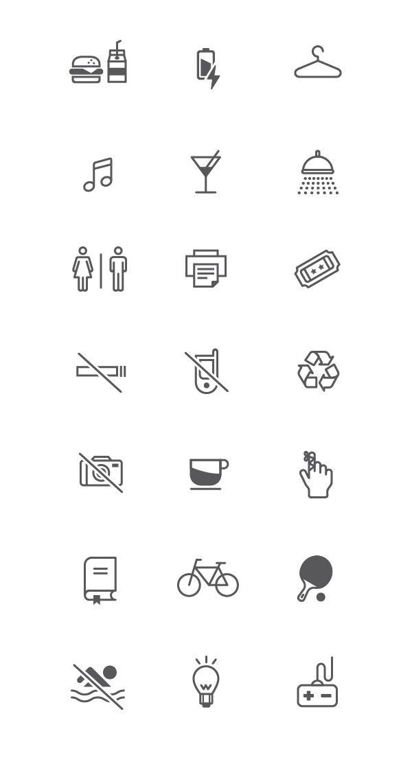 Office icons - Mia Natt och Dag