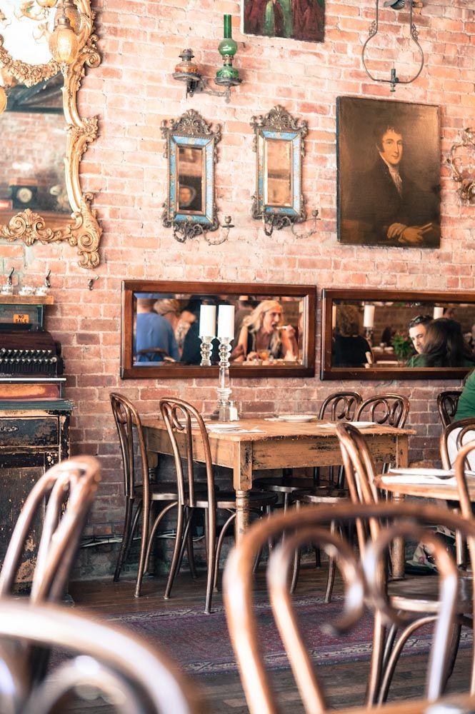 Antique Garage Nyc Vintage Restaurant Design Cafe Interior Vintage Cafe Decor