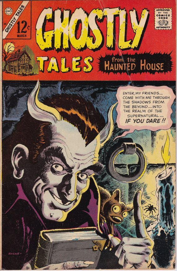 Ghostly Tales 60 March 1967 Issue   Charlton Comics by ViewObscura