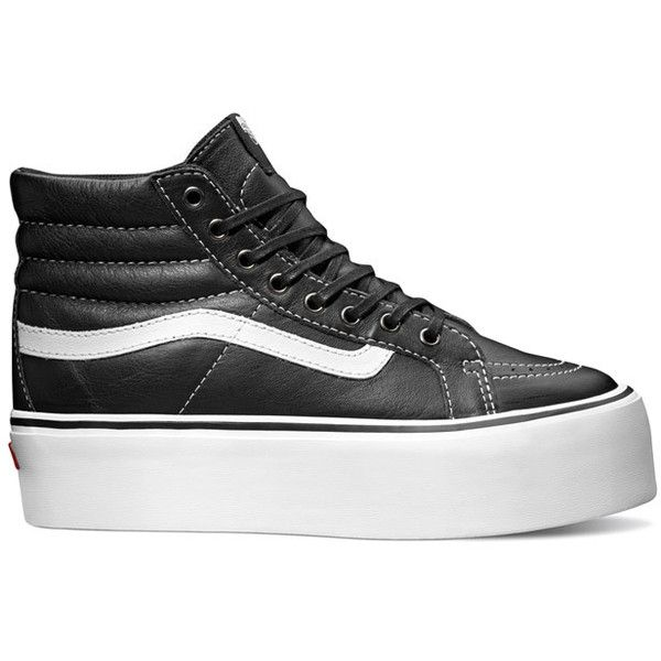 Vans Sk8-Hi Platform ❤ liked on Polyvore featuring shoes b9a305149f