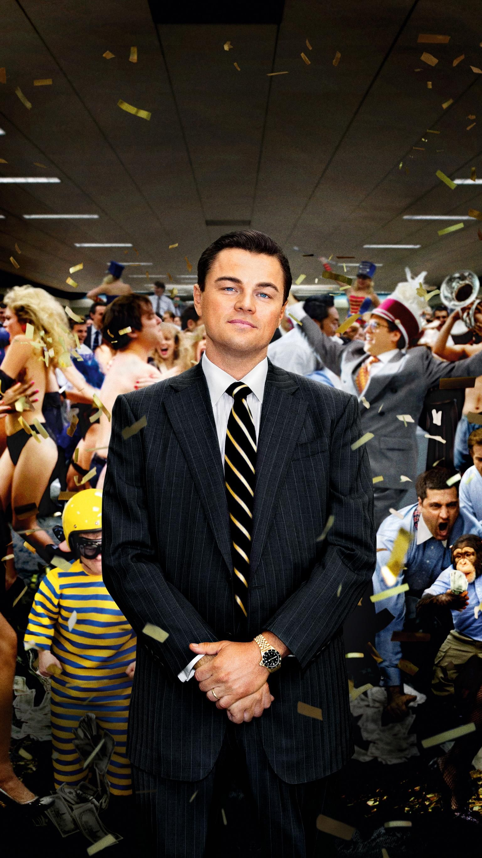 The Wolf of Wall Street (2013) Phone Wallpaper in 2020