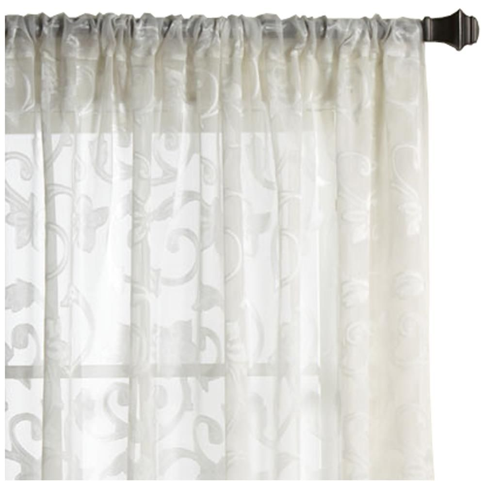 Longueur Des Rideaux rideau voilage - longueur 84 po/voilages/rideaux/fenêtres|bouclair