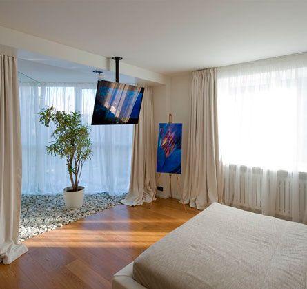 Soporte movil de brazo para tv led bogota habitacion for Decoracion apartamentos modernos en bogota