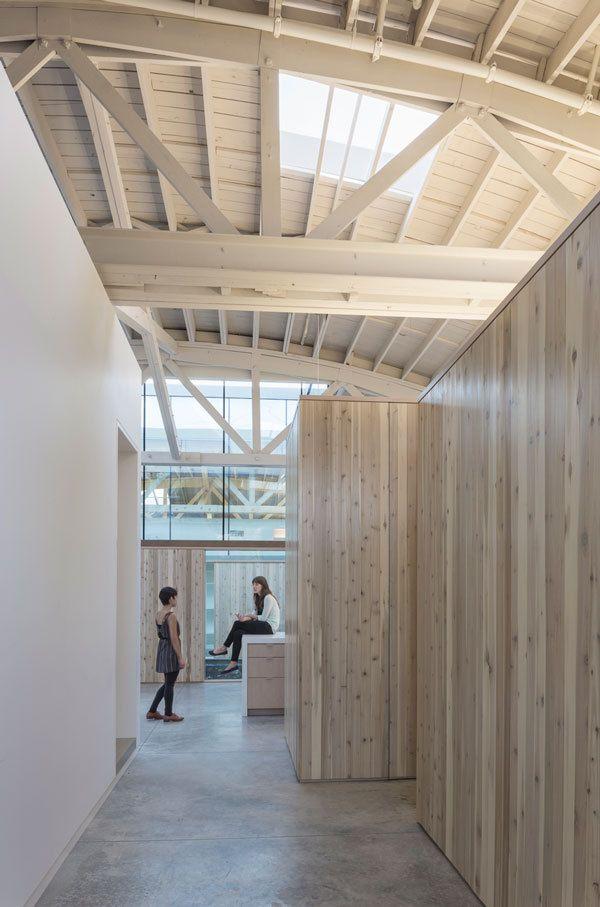 Bowstring Truss House Interior Architecture Design Architecture