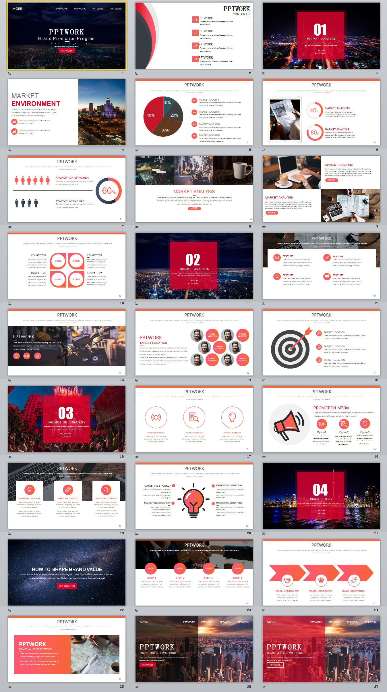 27 company team introduction powerpoint template powerpoint
