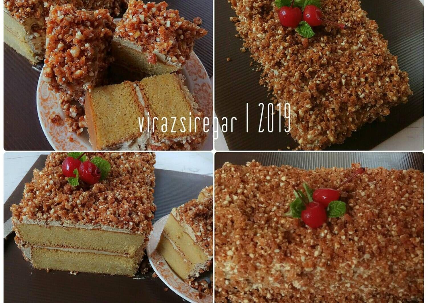 Resep Mocca Nougat Cake Oleh Virazsiregar Resep Kacang Mocha Resep