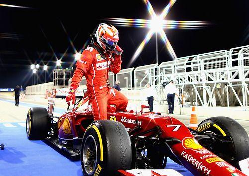 Kimi Raikkonen Ferrari Bahrain 2014 Clasificación GP de Bahréin 2014 de F1: Nico Rosberg se queda con la pole delante de Hamilton