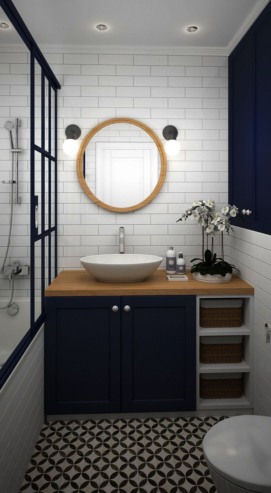 Bathroom Tile Lowes What Bathroom Sink Cabinets Around Guest Bathroom Ideas With Tub Small Bathroom Makeover Small Bathroom Bathroom Inspiration