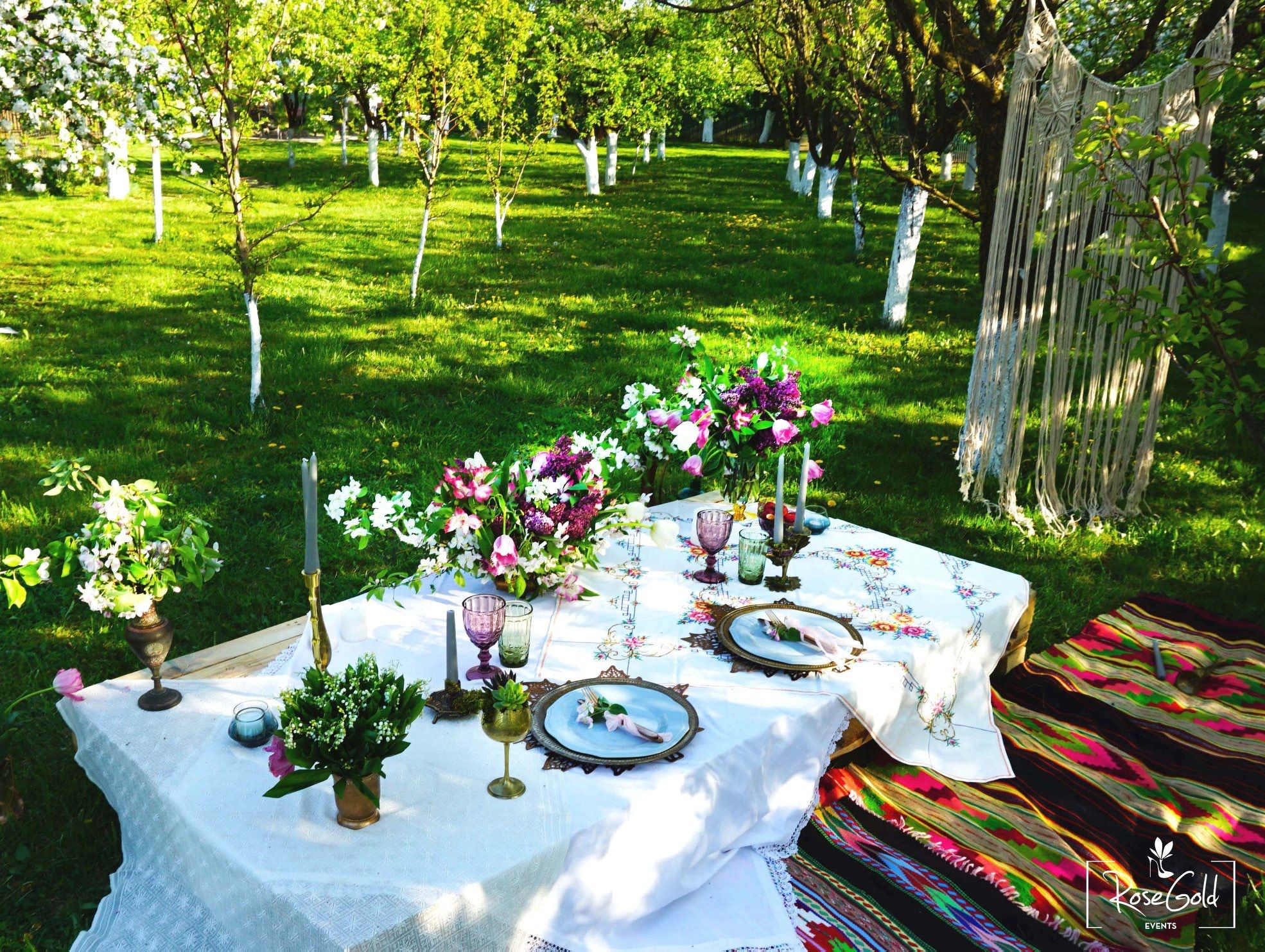 Pin by RoseGold Events on Spring garden engagement party | Pinterest