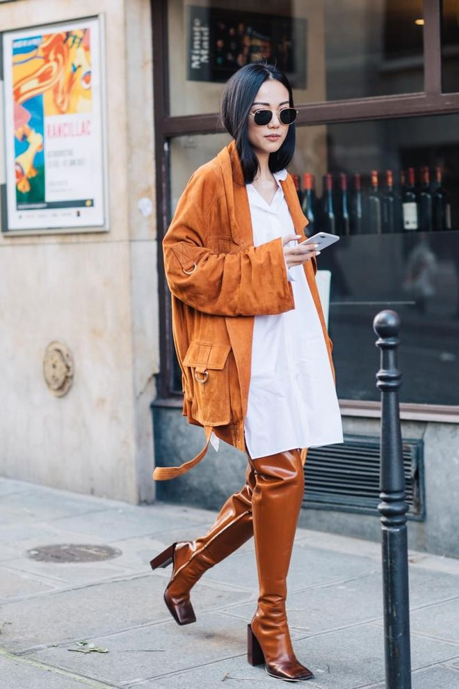 Street Style La Fashion Week Automne Hiver 2017 2018 De Paris La Fashion Week De Paris And