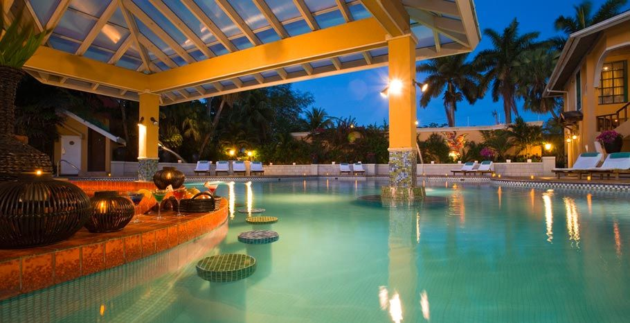 One of the Sandals resort pools(Negril) ...fun place ...