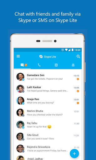 Skype Lite Chat & Video Call v1.13.0.27905release Sms