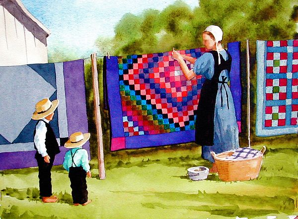Airing the Quilts, Faye Ziegler