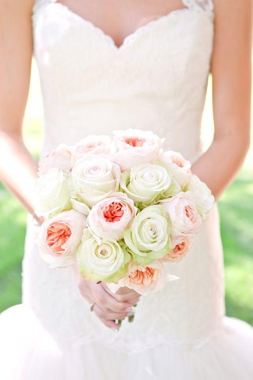 Bridal Blush Rose Bouquet