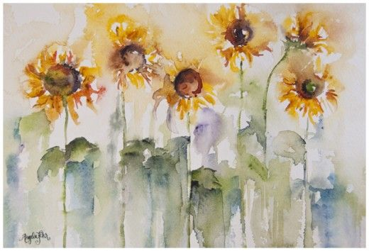 8 Rules For Fearless Painting In 2013 Watercolor Paintings Art