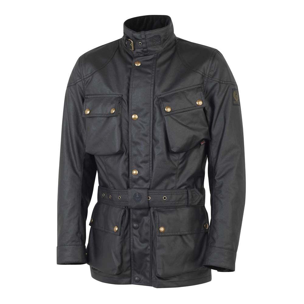 Belstaff Trialmaster Classic Tourist Trophy Jacket Black