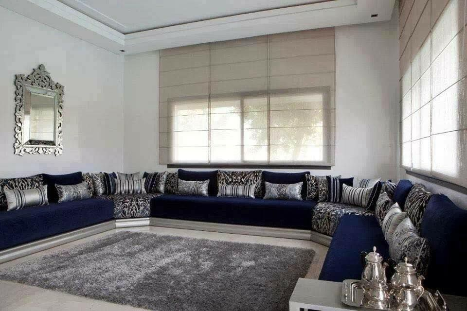 sjour salon marocain moderne - Sejour Marocaine Moderne