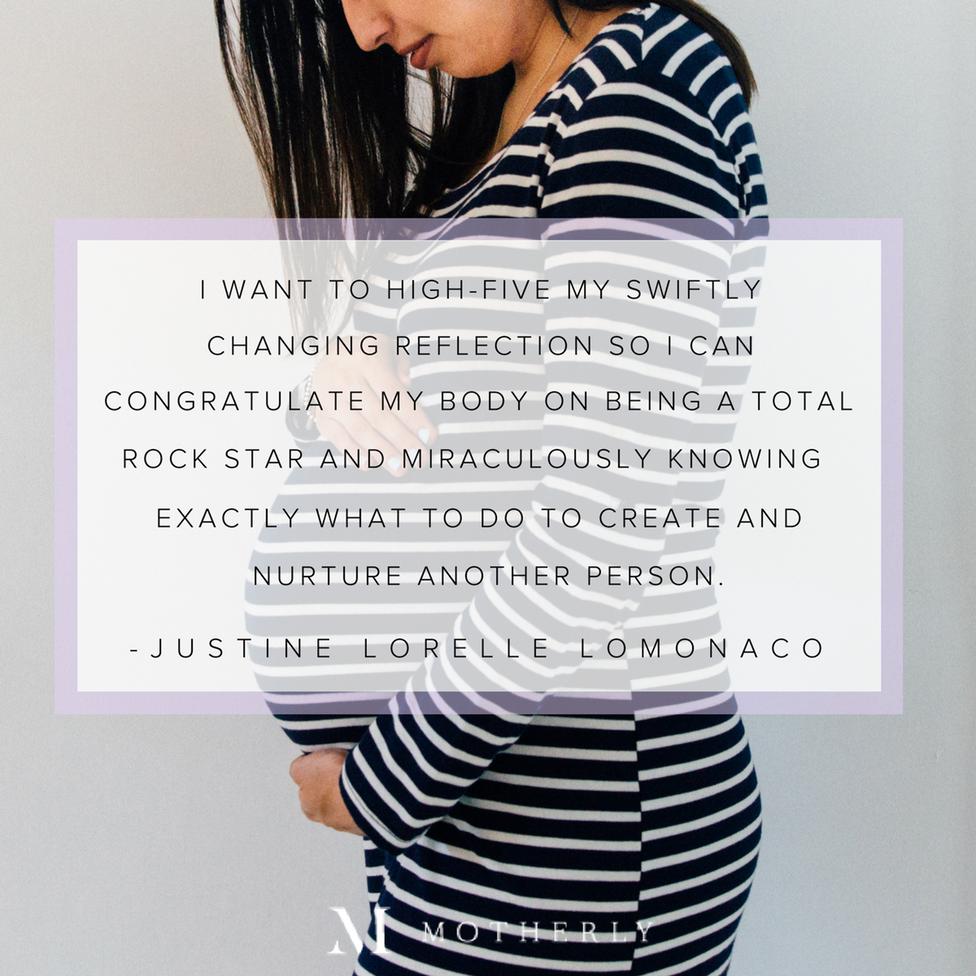 Positive Body Image Pregnancy Quotes 5