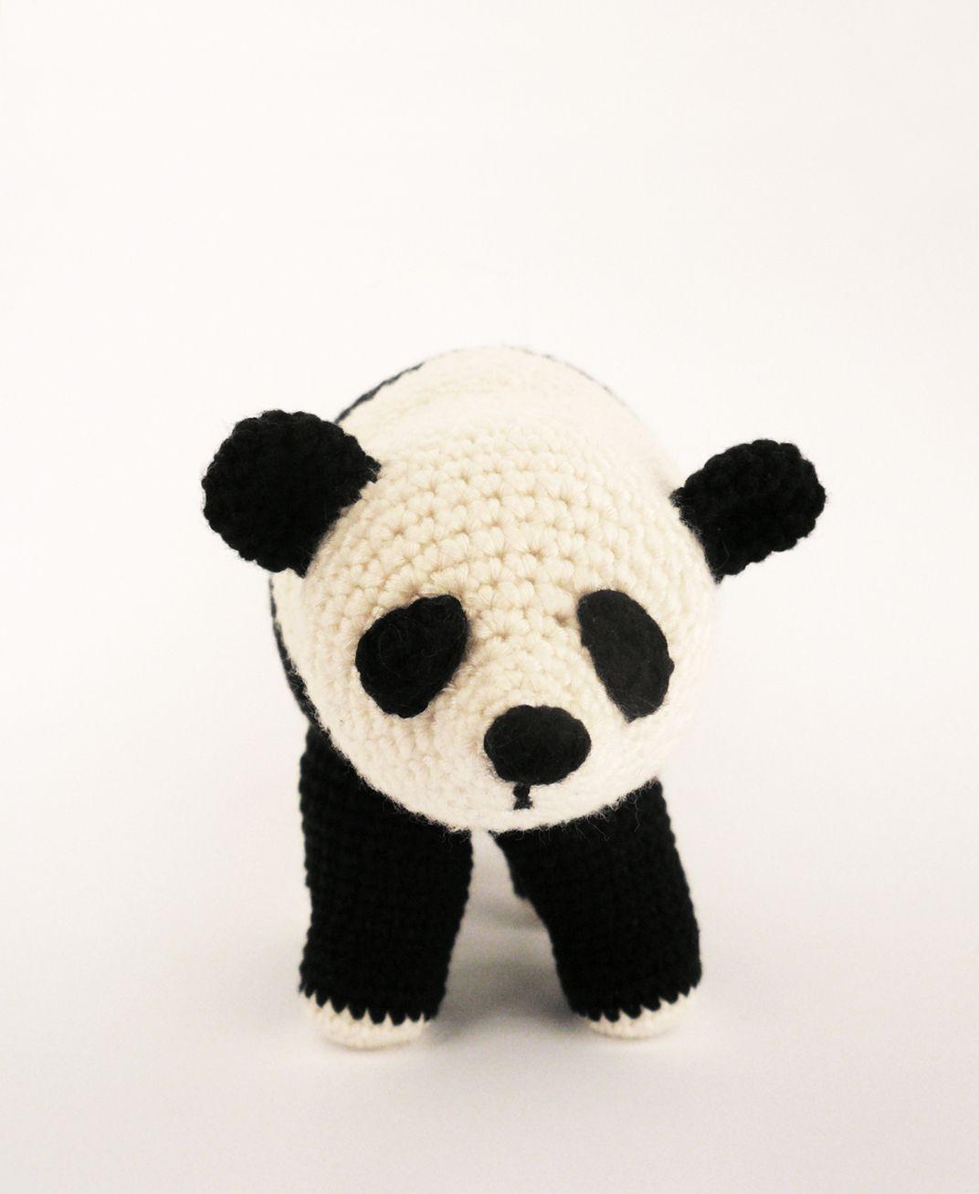 Panda Bear #softy # toy #amigurumi #bear #panda #crochet # handmade ...