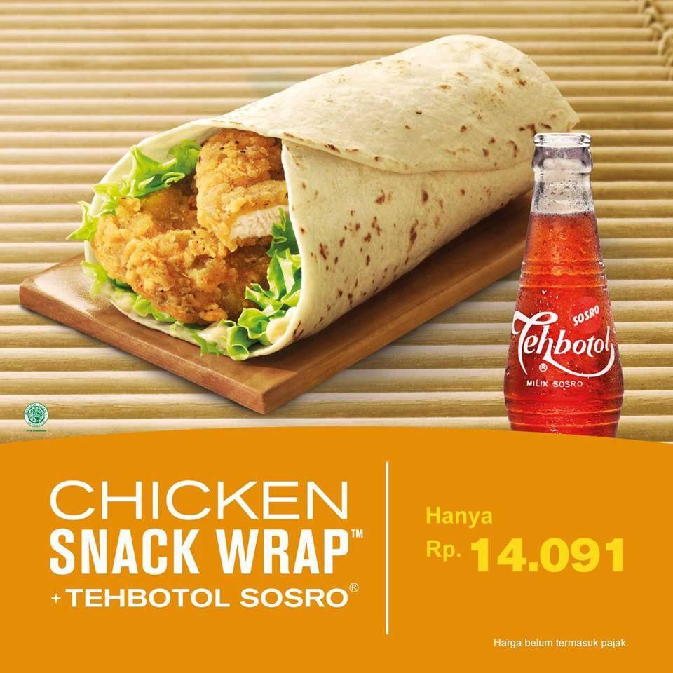 Chicken Snack Wrap Mcdonald S Indoensia Mcdonalds Indonesia Mcwrap Snack Wrap Mcdonalds Food Snack Wrap
