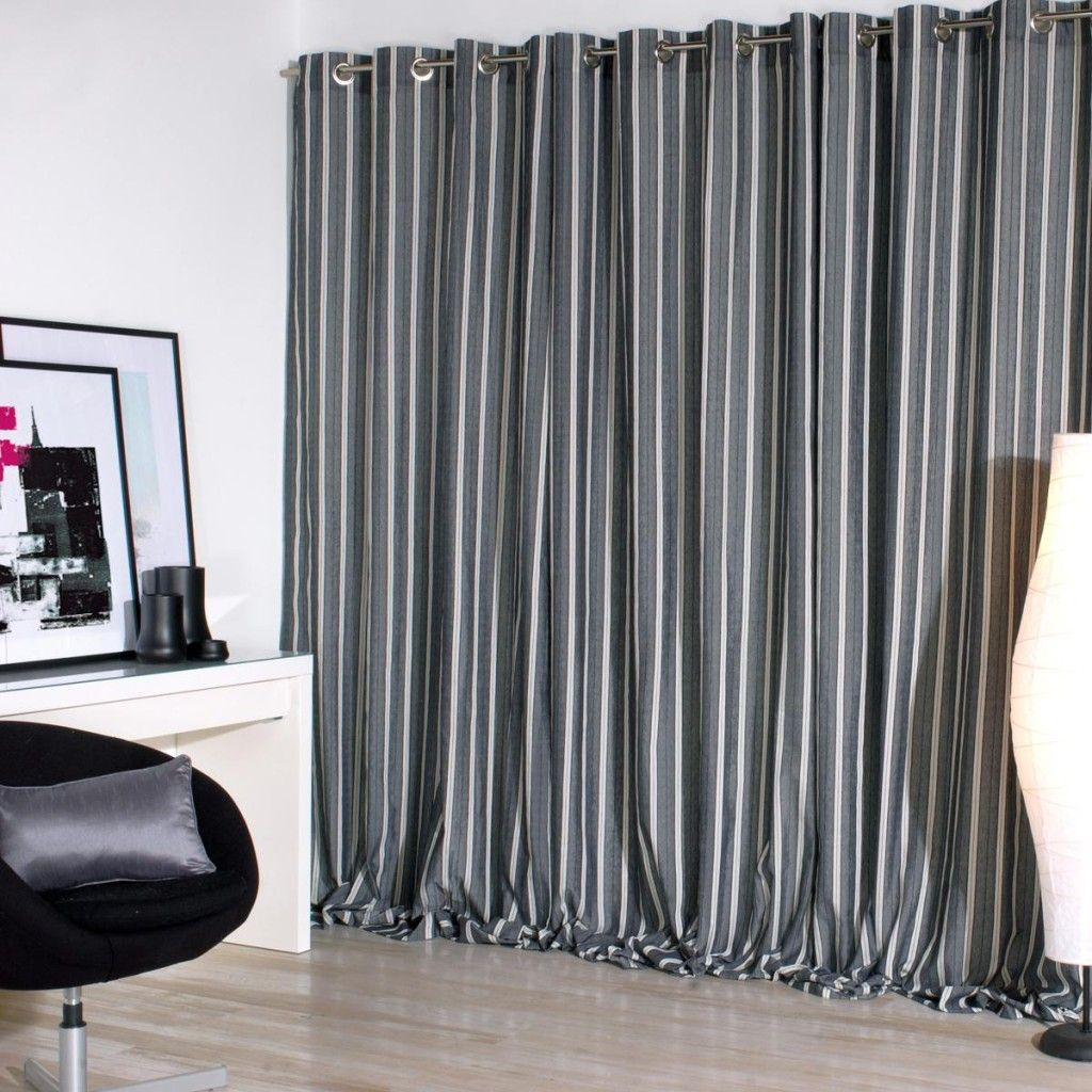 Cortinas grises cortinas pinterest cortinas grises for Cortinas salon gris