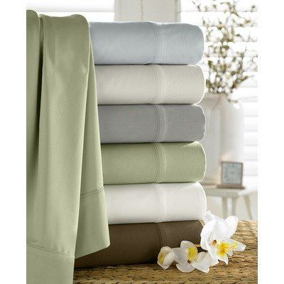 Bamboo Pillow Case (Set of 2) Size: King, Color: Grey by Kassatex Fine Linens. $20.72. BMB-KPC-G Size: King, Color: Grey Features: -Bamboo pillow case.-Material: 60pct rayon from bamboo, 40pct organic cotton.-300 Thread count.-4'' flange.-Machine wash / dry. Options: -Available in Standard, Queen or King sizes.-Available in several colors.