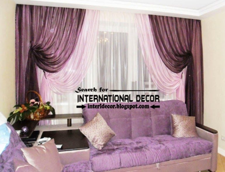 Purple Luxurious Living Room Curtains | Largest Catalog Of Purple Curtains  And Drapes, Tie Back