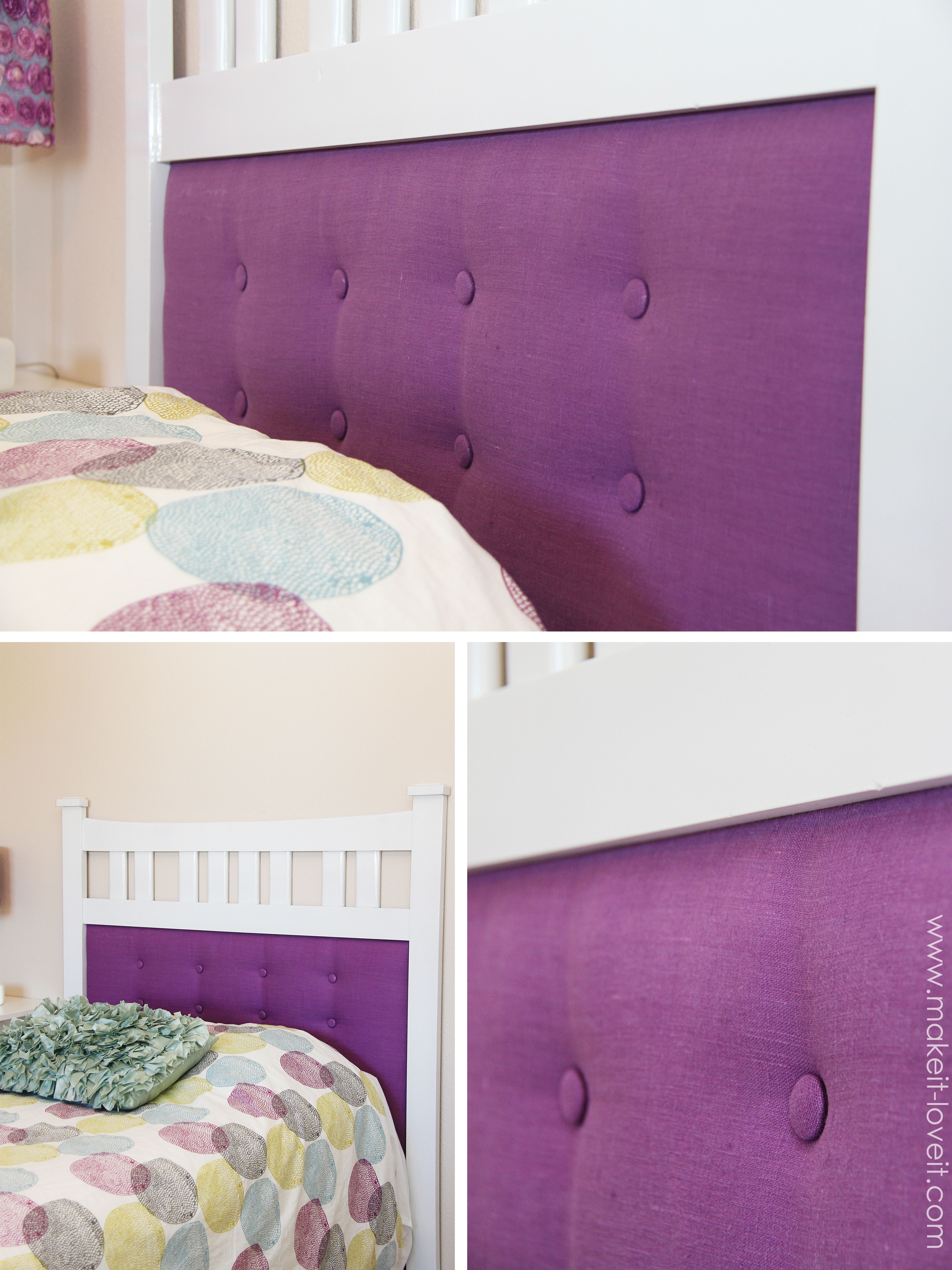 tufted headboard | Project Ideas | Pinterest | Cabecera, Jardines y ...