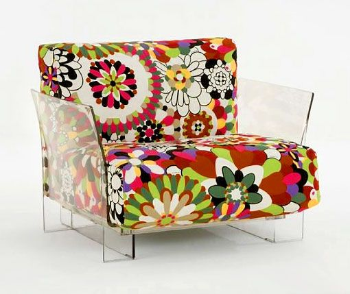 Explore Modern Classics At Switch Modern Much Like The Pop Missoni Armchair  From Kartell.