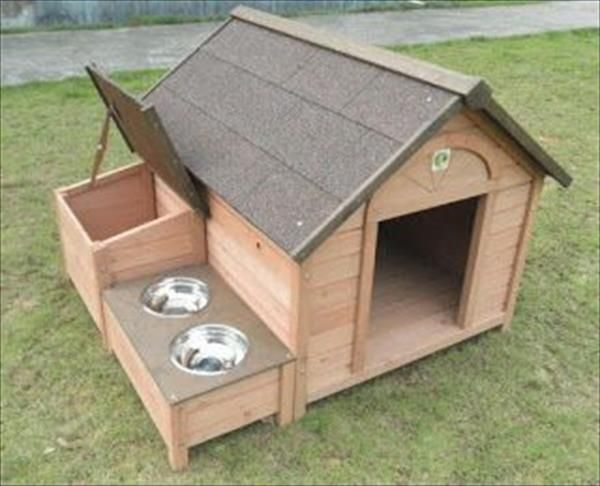 stylish pallet dog houses designs | dog houses, meals and dog