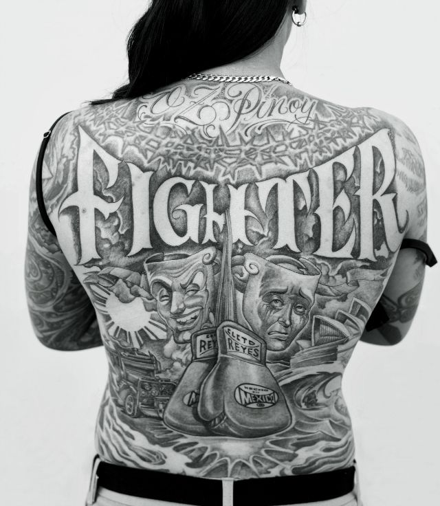 100 Tattoo Lettering Designs For Your Body Art: Grafting Graffiti Style Onto Skin
