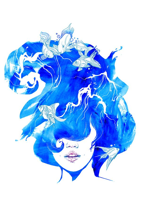 Elements by Sophia Miroedova, via Behance