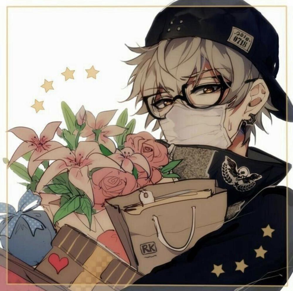Aesthetic Anime Boy Brown Hair Google Search Anime Anime Boy Anime Glasses Boy
