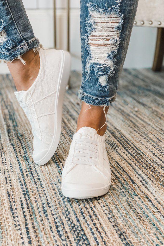 BLOWFISH Vex Slip on Sneaker (White