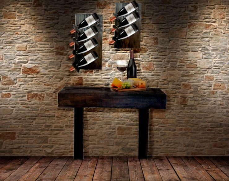 Conjunto Adegas de parede madeira | Elos Decora | Elo7