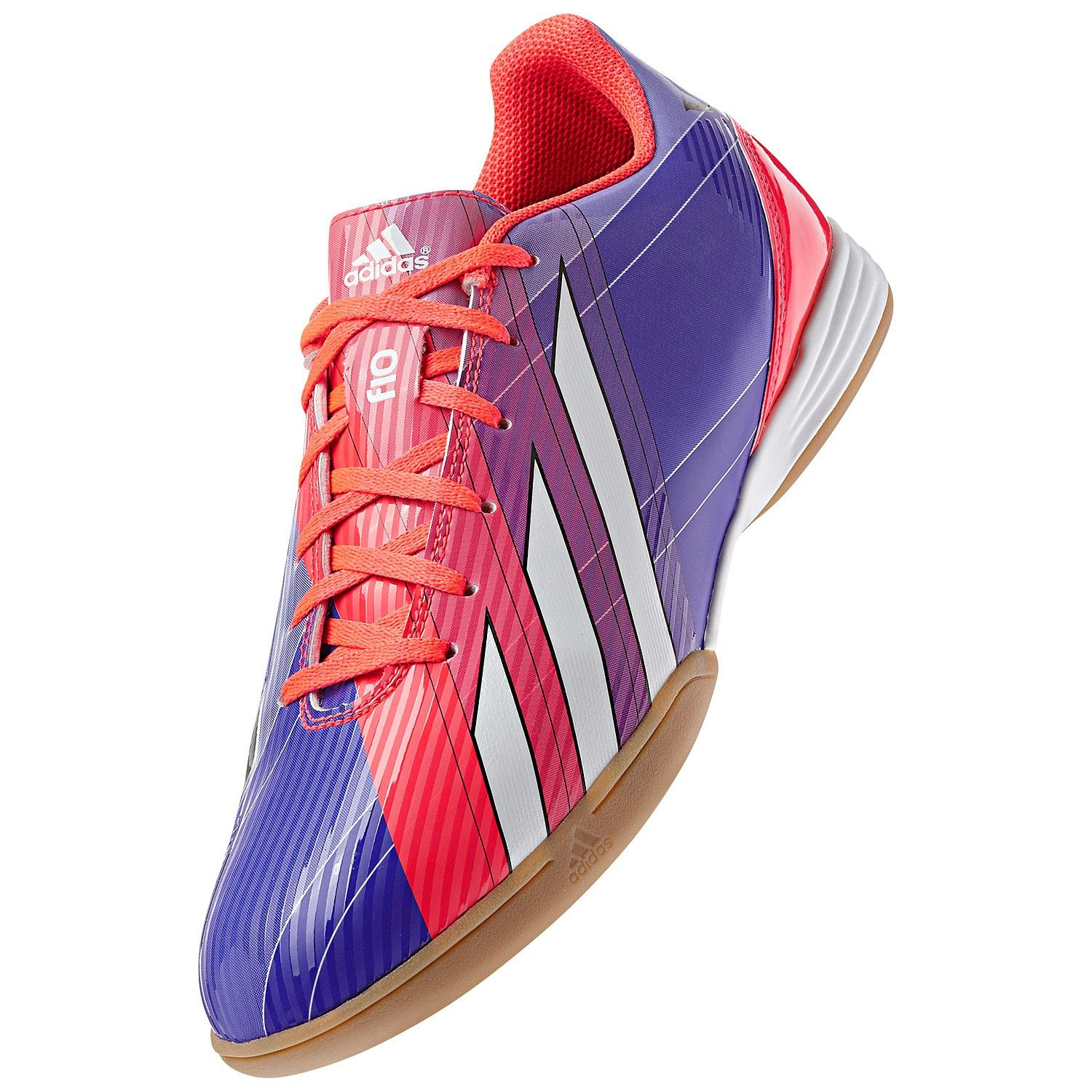 low priced b0cc8 68d3b Adidas Men s F10 Messi Indoor Soccer Shoe