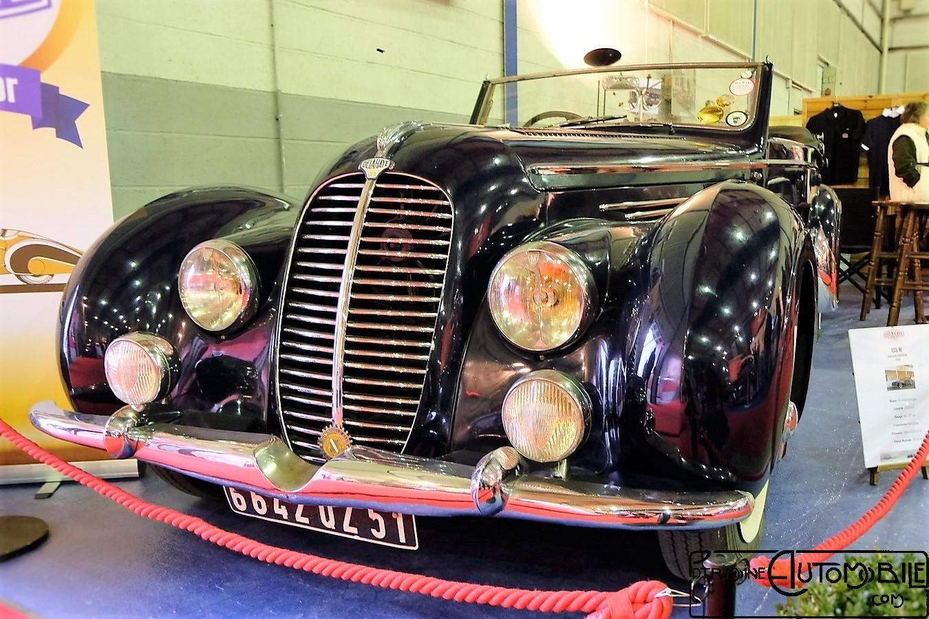 Delahaye 135 M de 1948 cabriolet Chapron