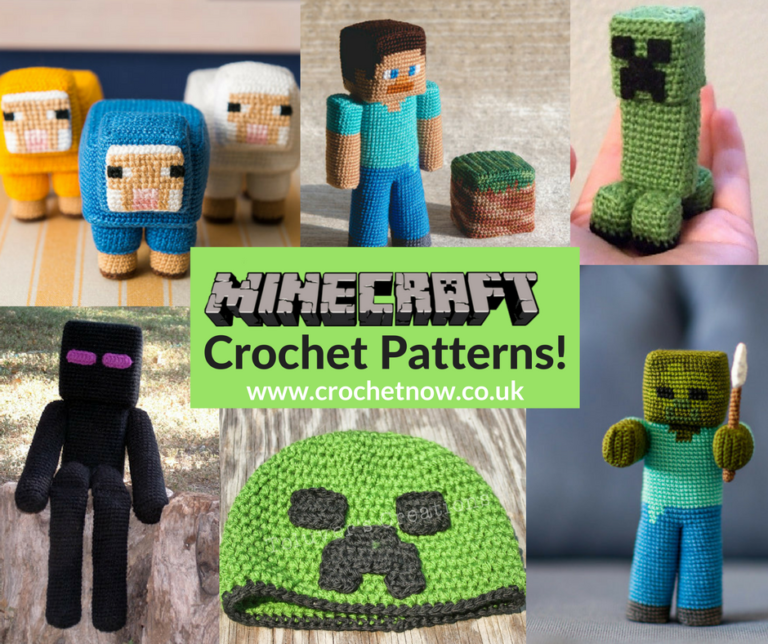 free-minecraft-crochet-patterns | Crochet | Pinterest | Muñecos de ...
