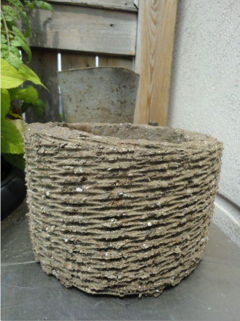 Hypertufa Like Concrete But Lighter Diy Planters 400 x 300