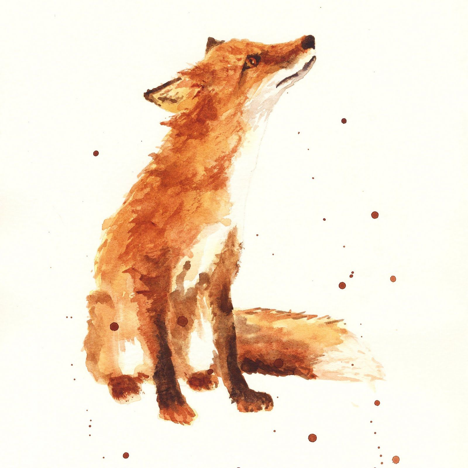 Which Slavic Goddess Are You Fox Painting Watercolor Fox Fox Art
