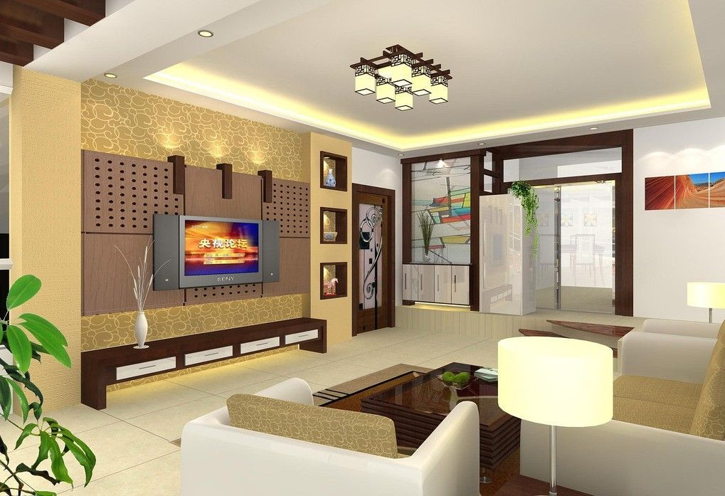 Luxury POP Fall Ceiling Design Ideas for Living Room