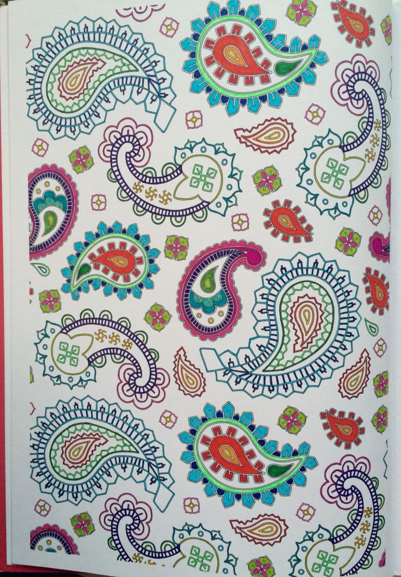 100 coloriages anti stress art th rapie hachette art tableau en 2019 art embroidery et - Coloriage art therapie ...