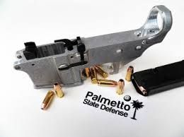 These are our dedicated 9mm 80% lowers  Rear takedown pocket is