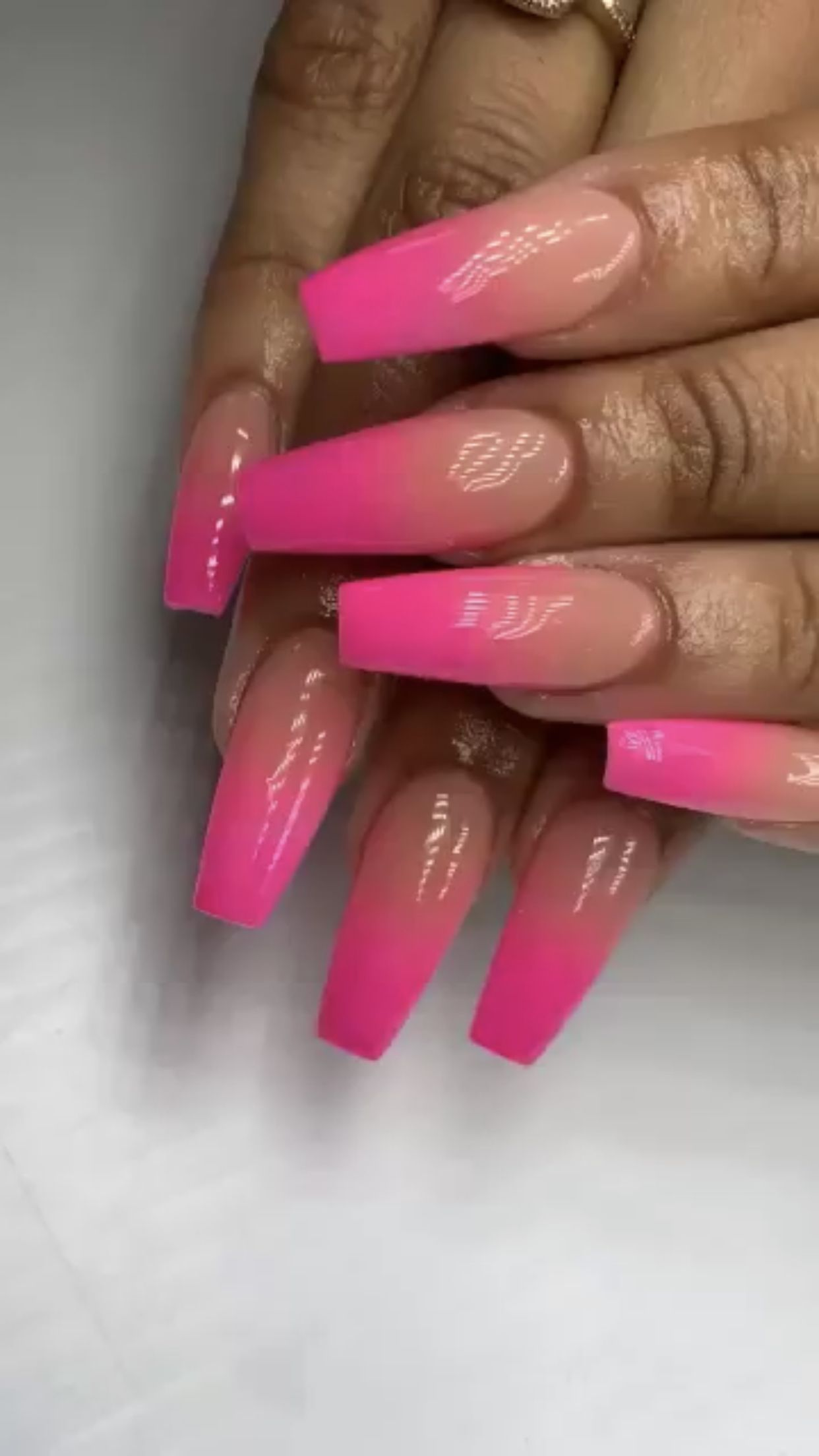 Pin By Deanna Marie On Nails Pink Ombre Nails Pink