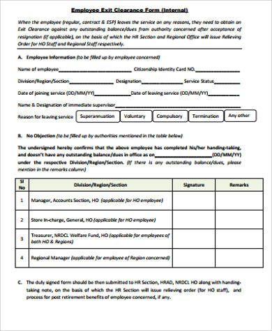 Image result for employee clearance form Adviseza Pinterest - employee clearance form