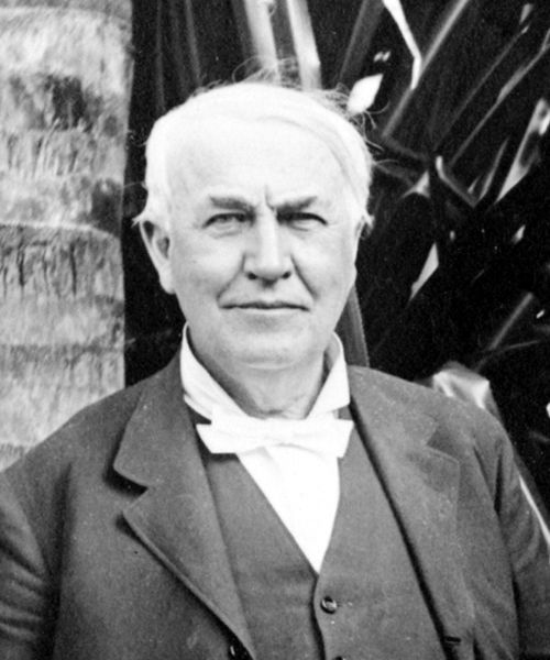 Pin By Aaron Gilchrist On Thomas Alva Edison Famous Inventors Thomas Edison Facts For Kids