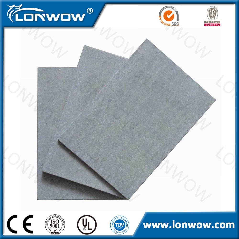 Class A Fireproof High Density Fiber Cement Board Fiber Cement Board Cement Relative Humidity