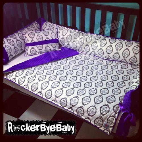 Nightmare Jack Skellington Crib Bedding And Nursery Decor