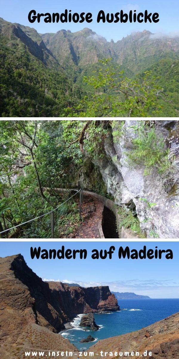 Grandiose Ausblicke beim Wandern auf Madeira #bestplacesinportugal
